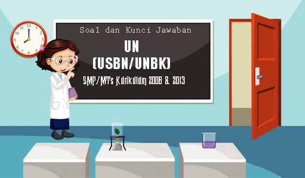 Soal UN (UNBK) Matematika SMP 2020