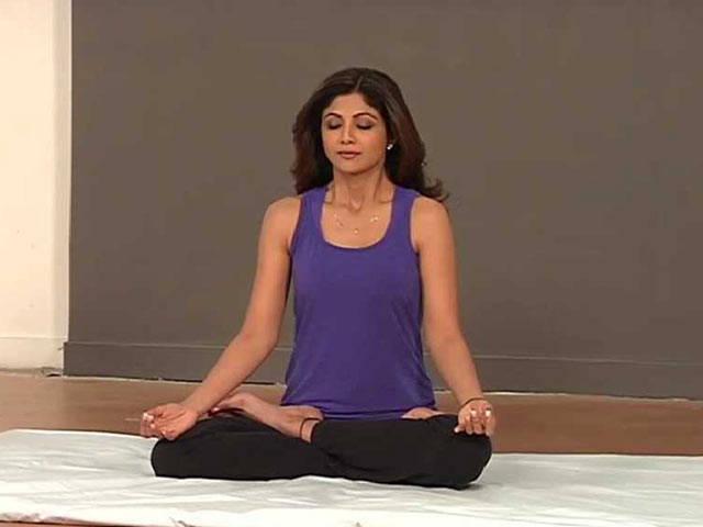 Shilpa Shetty on Yoga Day