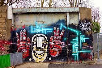 Sunday Street Art : dAcRuZ et Marko 93 - rue de l'Ourcq - Paris 19
