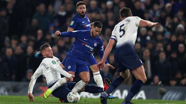 Hasil Piala Liga Inggris: Menang Adu Penalti atas Tottenham, Chelsea ke Final