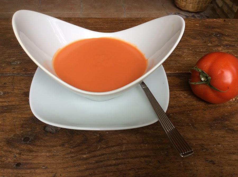 Cuenco de gazpacho