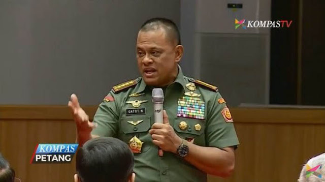 Rakyat Lebih Percaya Panglima Gatot Nurmantyo Ketimbang Wiranto