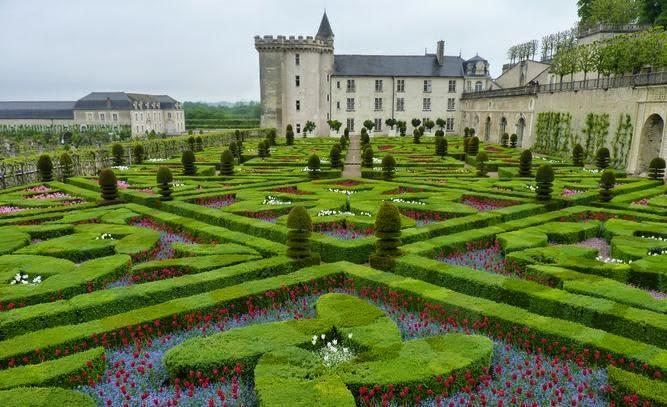 Jardines del Castillo de Villandry.
