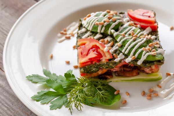 3 Receitas veganas de Lasanha Crudivora de abobrinha , novidades online brasil receitas , Comidas Veganas , Lasanhas Veganhas