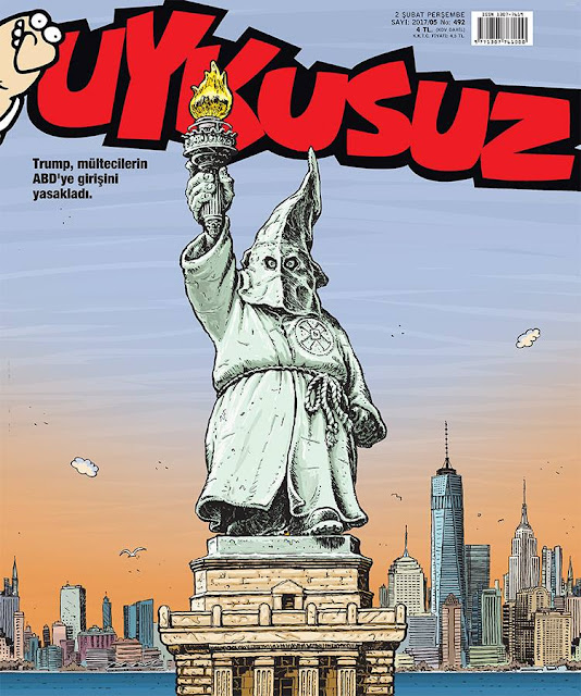 Uykusuz Dergisi | 2 Şubat 2017 Kapak Karikatürü