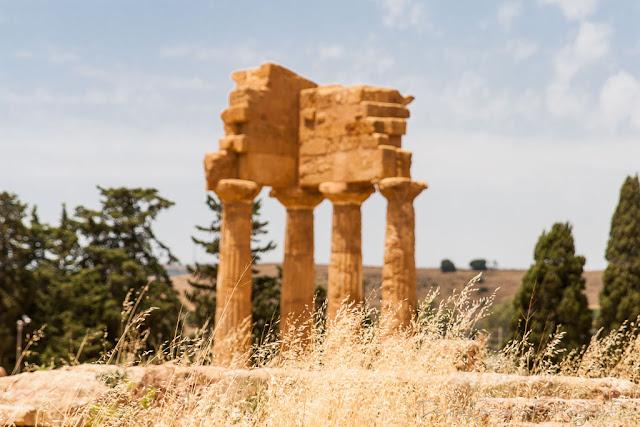 Templo de Castor y Pollux en el Valle de los Templos