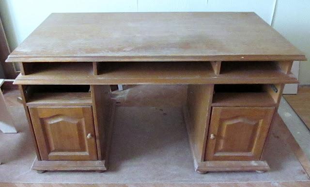 окраска старой мебели