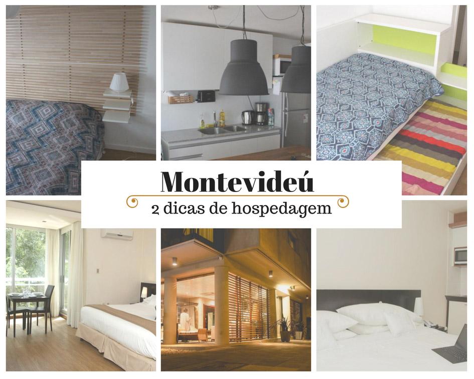 Montevideú: duas dicas de hospedagem.