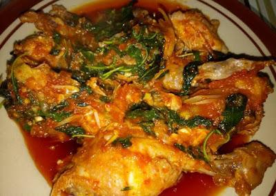 resep ayam rica rica kemangi