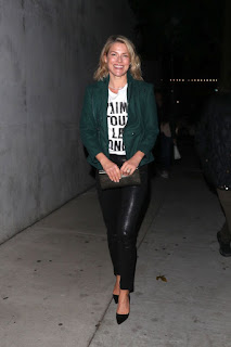 Ali Larter And Hayes Macarthur At Craigs Restaurant In West Hollywood