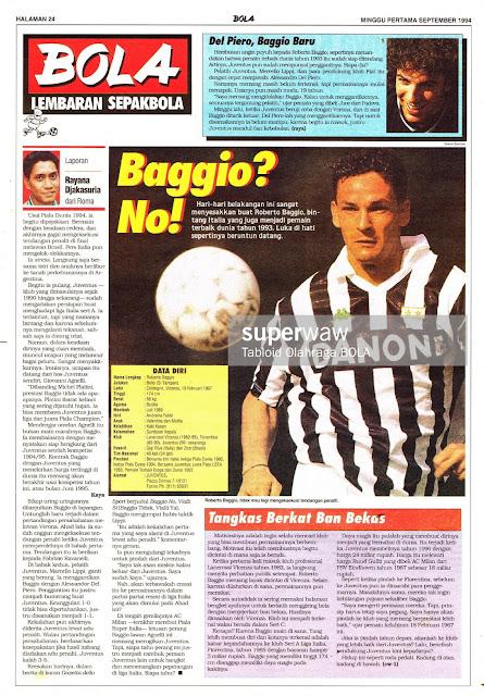 Roberto Baggio Juventus 94