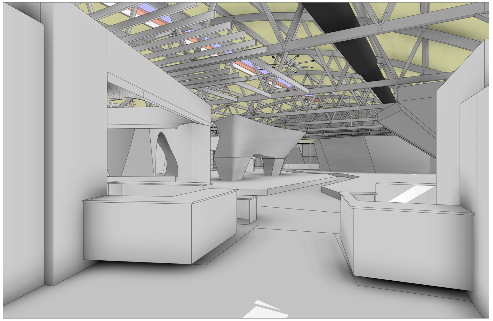 Revit Model View From Main Entry