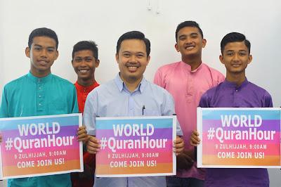 World #Quranhour di SMK Jerlun, Kedah Malaysia