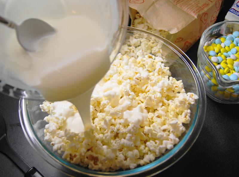 Baby Shower White Chocolate Popcorn The Kitchen Is My Playground