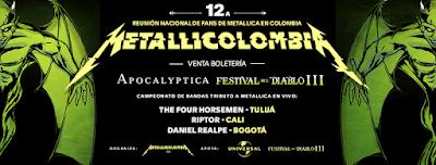 REUNION NACIONAL DE FANS DE METALLICA EN COLOMBIA 2017 1