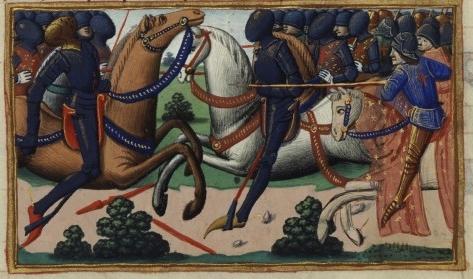 LA BATAILLE DE BULGNEVILLE - 2 juillet 1431
