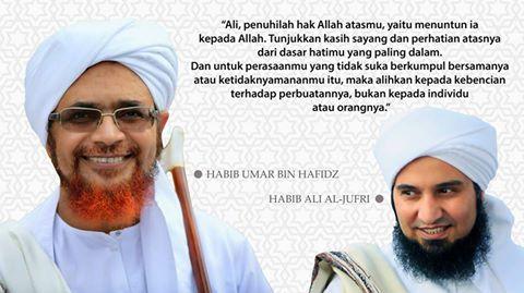 Habi Ali Al Jufri Menuntun Taubat pembunuh Ayah Habib Umar bin Hafidz