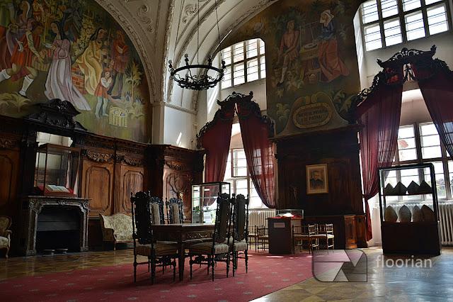 Wnętrza Klasztoru w Henrykowie