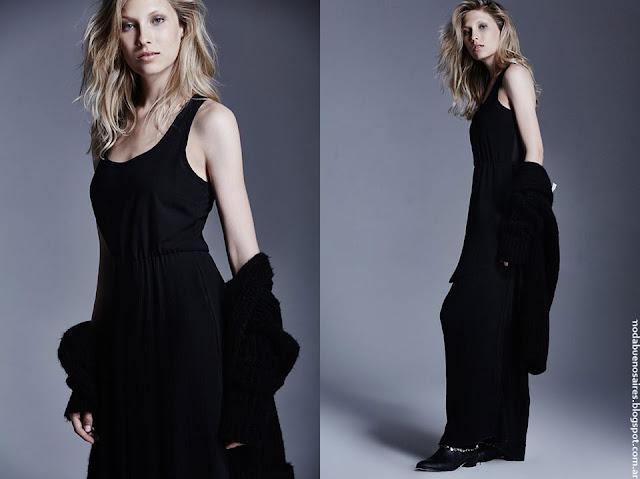 Moda invierno 2016 ropa de mujer Delucca.