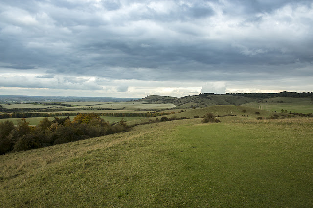 Ivinghoe Beacon in the distance