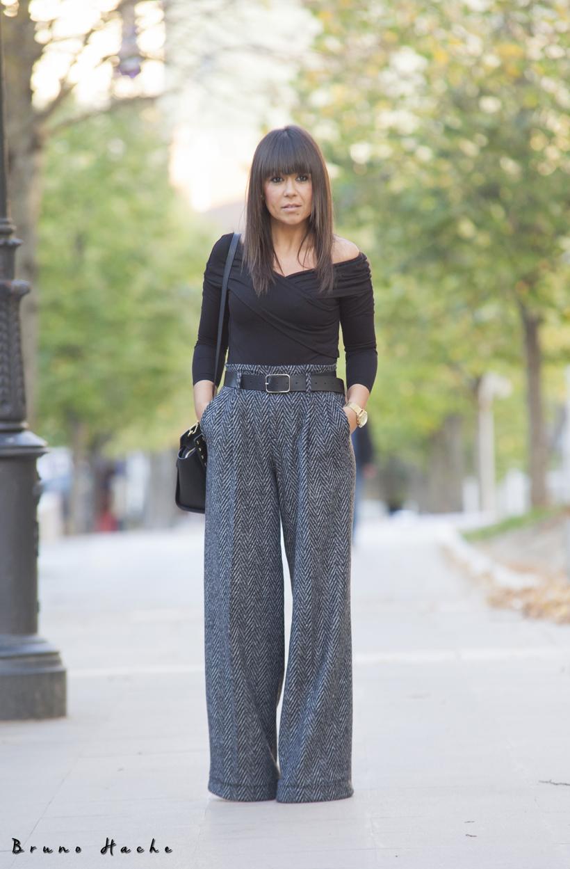 Pantalones Ancho De Vestir Bellos Disenos Con Fotos Moda Y Tendencias 2019 2020 Somosmoda Net