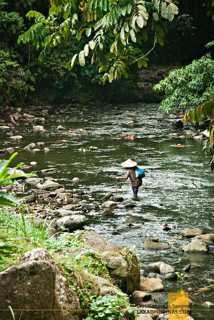 Local Fisherman at Lake Sebu's 7 Waterfalls