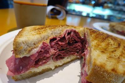SweetSpot., pastrami sandwich