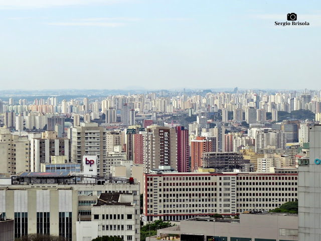 Panorâmica de parte da Bela Vista e Liberdade - São Paulo