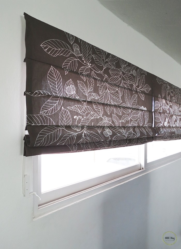 How to make roman blinds ohoh blog the key holder box on the right is also a diy and if you want to make a fabric planter who match your shades have a look here solutioingenieria Gallery