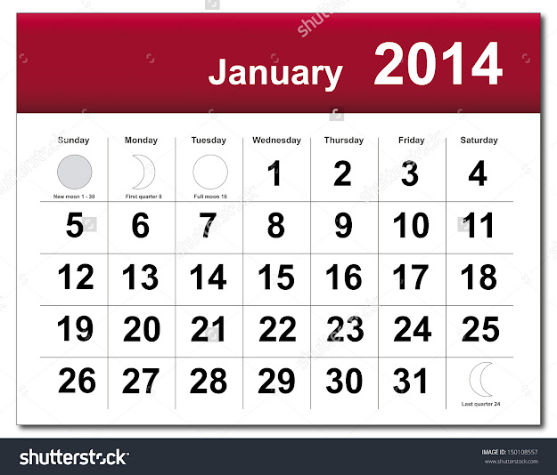 January  Calendar Vector Version Available In My Portfolio