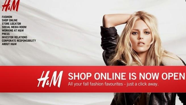 ecommerce y marketing llega la tienda 39 online 39 de h m a. Black Bedroom Furniture Sets. Home Design Ideas