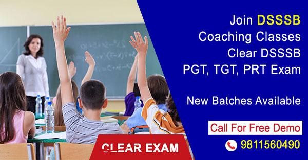 DSSSB Coaching