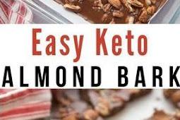 Keto Easy Almond Bark Recipe