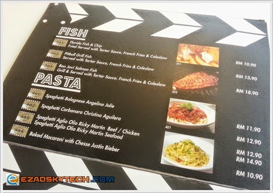 Menu FISH & PASTA Pak Uda Kitchen & Grill