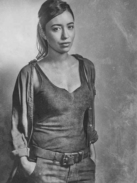 Christian Serratos como Rosita Espinosa – The Walking Dead _ sexta temporada, Silver Portraits – Photo Credit: Frank Ockenfels 3/AMC