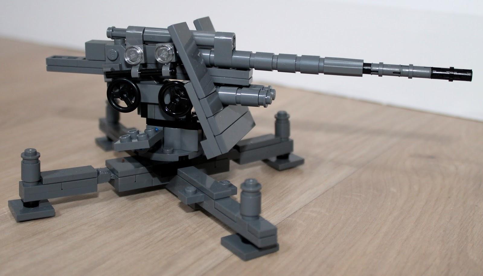 Lego Museums Brickmania Flak 36 88 Cm Anti Aircraft Gun Review