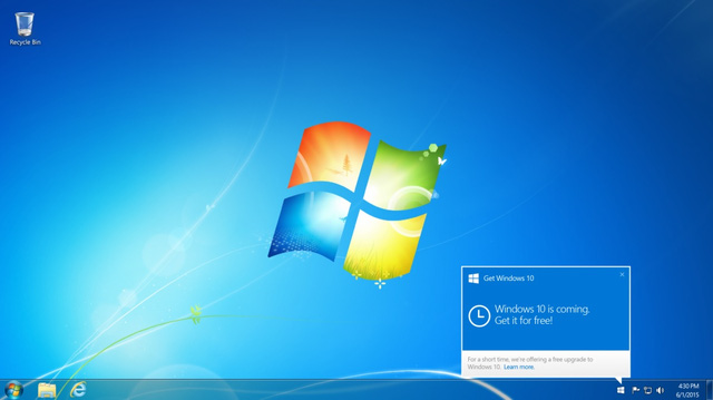 Windows 7 tìm ẩn nhiều nguy cơ, nâng cấp lên Windows 10 thôi nào