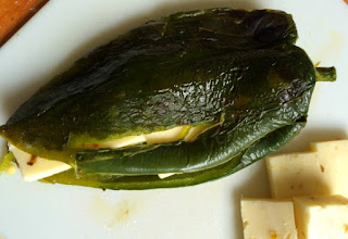 Gluten Free Chile Rellenos with Cheese Favorite Family Recipes stuffed with cheese