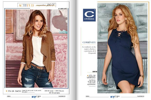 Catalogo de ropa cklass OI 2017 | galilea Montijo