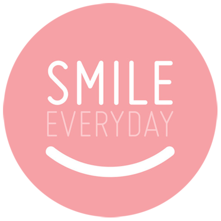 Smile Everyday Print by Petite Stitches