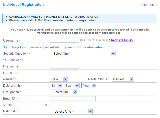 How to Create IRCTC Account | IRCTC Registration