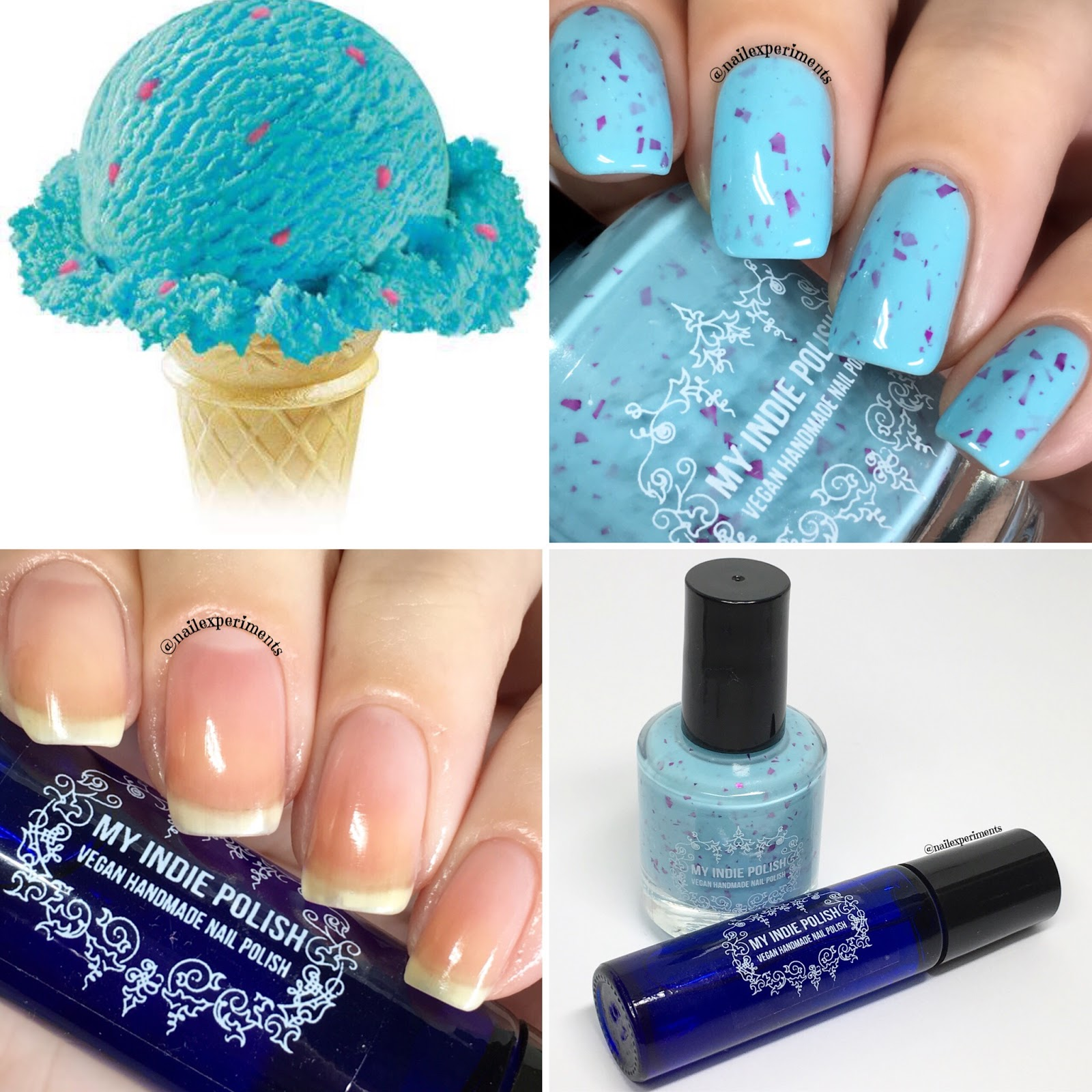 Nail Experiments: My Indie Polish Bubblegum Ice Cream | February ...