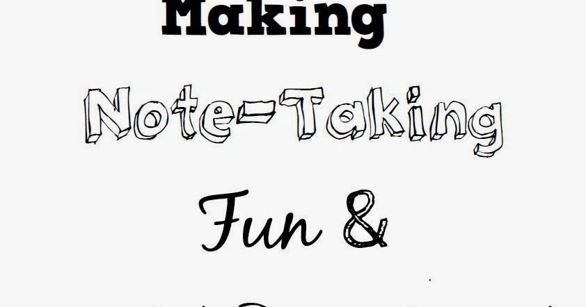 Math = Love: OCTM 2014: Making Note-Taking Fun & Interactive