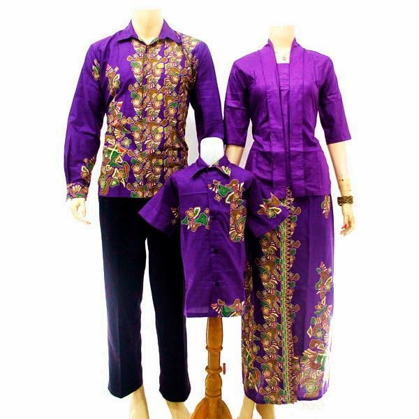 Model Baju Batik Sarimbit Keluarga Untuk Pesta