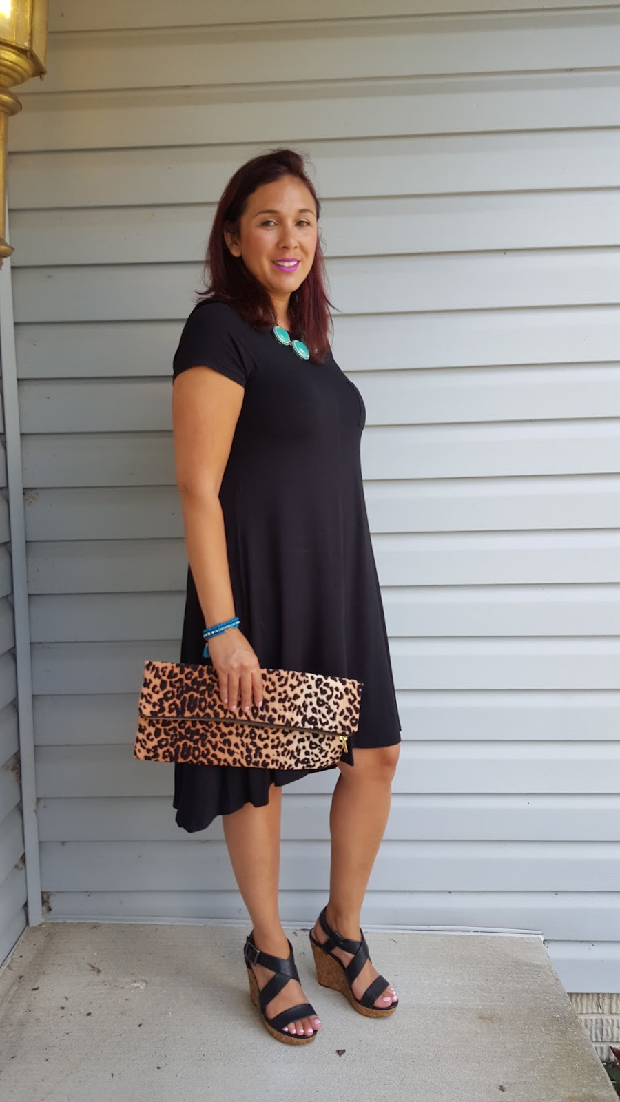 PinkHairFloosie's Style Guide : Black Dress and Turquoise ...