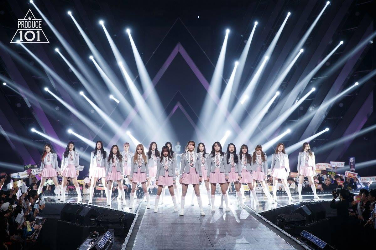 韓國選秀節目》PRODUCE 101프로듀스 101-前11名組成的女子團體I.O.I
