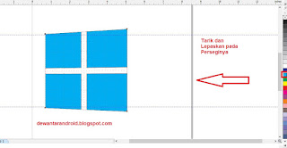 cara membuat logo windows di coreldraw x5