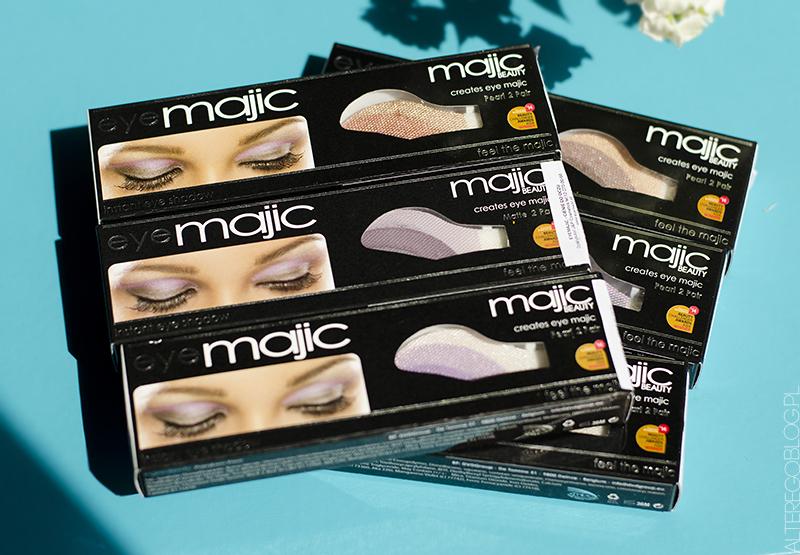 Ciekawostka kosmetyczna | błyskawiczne cienie do powiek Eye Majic