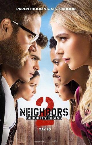 Neighbors 2 Sorority Rising 2016 Dual Audio Hindi 950MB BluRay 720p Full Movie Download Watch Online 9xmovies Filmywap Worldfree4u