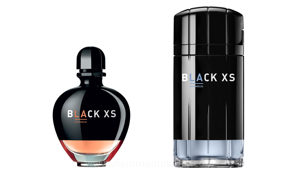 diemmemakeup new black xs l a by paco rabanne limited edition. Black Bedroom Furniture Sets. Home Design Ideas